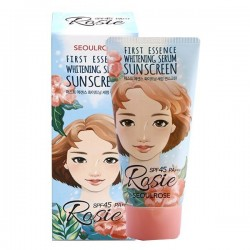 Protection solaire SeoulRose Rosie First Essence Whitening Serum Suncreen SPF45 PA+++