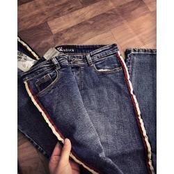 Jean xanh viền sọc 1131