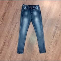 Quần jean bạc lưng cao
