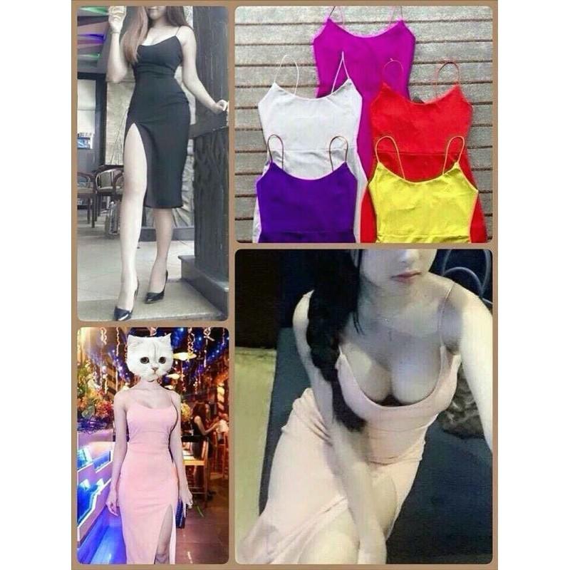 Body dress with strap 1337