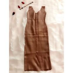 Đầm thun len mịn body sành... 166