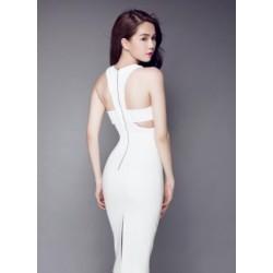 Robe blanche Ngoc Trinh 273