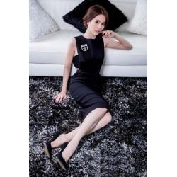 Robe noire élégeante Ngoc Trinh