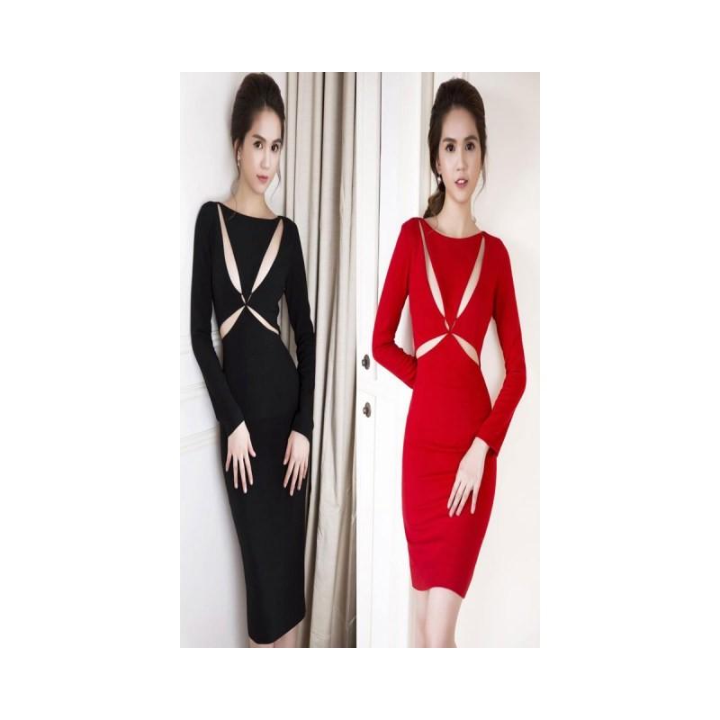 Sexy dress Ngoc Trinh