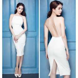 Ngoc Trinh backless dress 331