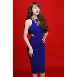 Robe bleue 366