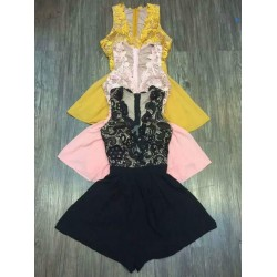 Lace jumpsuit dress 87
