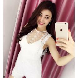 Lace jumpsuit dress 95